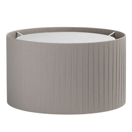 Astro 5016015 Drum 400 Pleated Shade Putty